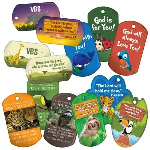 All VBS Brag Tags