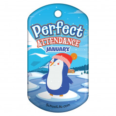 Perfect Attendance - Holiday Theme by Month