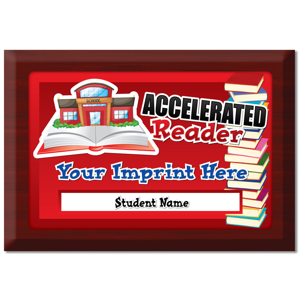 Custom Plate Plaque - Accelerated Reader