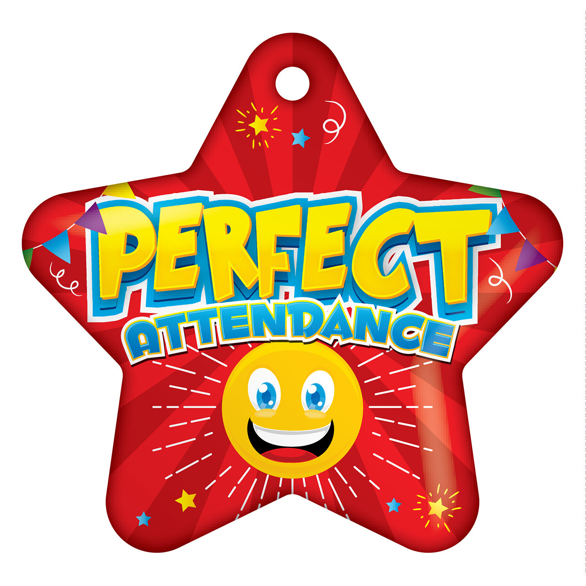 star shape emoji perfect attendance tags schoollife com