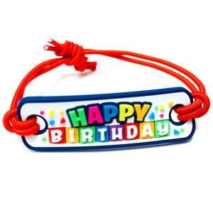 3D Bands - Happy Birthday