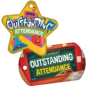 Outstanding Attendance - Theme by Month