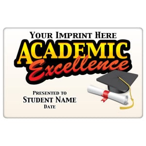Custom Magnetic Plaque - Academic Excellence