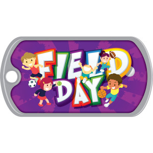 Metal Brag Tags - Field Day, All-Sport