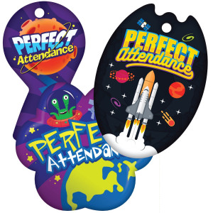Perfect Attendance - Space Theme