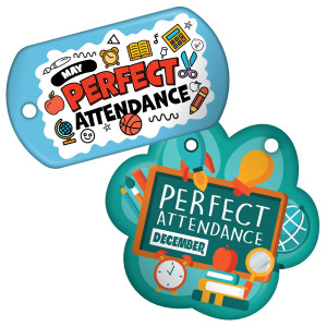 Perfect Attendance - Theme by Month